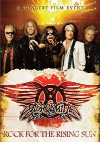 Cover Aerosmith - Rock For The Rising Sun [DVD]